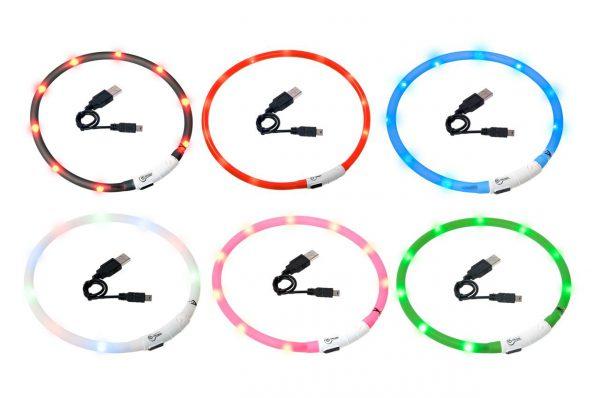 Leuchthalsbänder